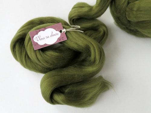 MERINO 18 mic - sylvánská zelená (č. 31) / od 20 g