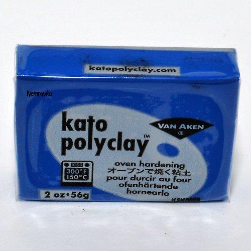 Kato Polyclay / profi polymerová hmota / Modrá