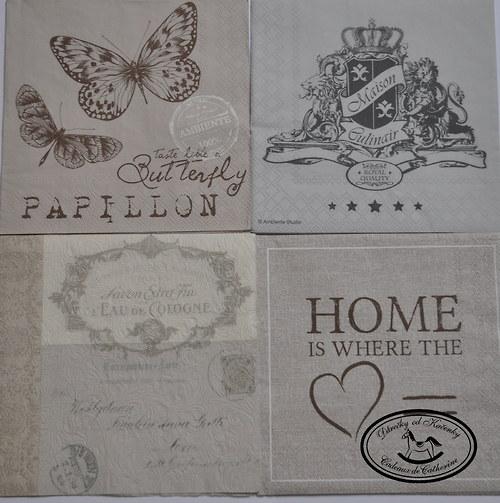 Vintage s motýly
