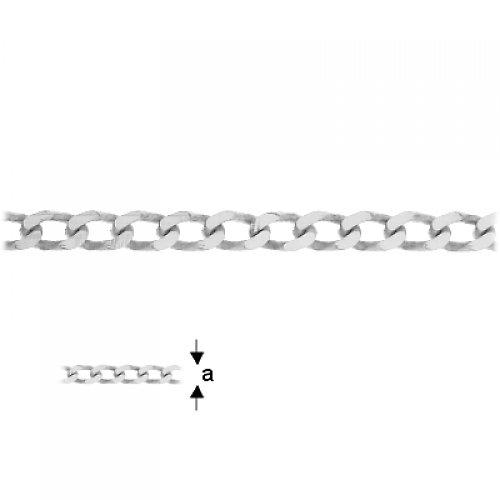 Řetízkovina stříbro Ag 925/1000 , 10 cm