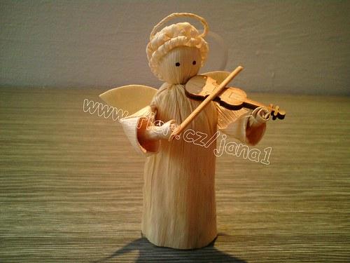 Anděl s houslemi