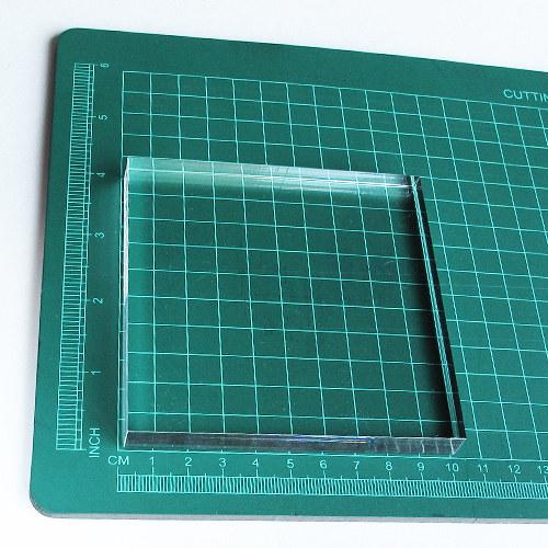 Akryl. bloček pro razítkování (10 x 10 cm)