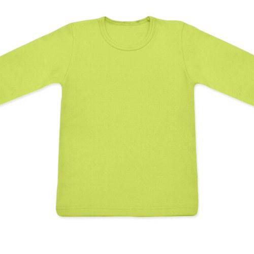 Dětské tričko UNI DR světle zelené
