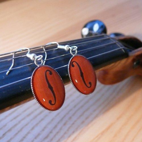 Náušnice nejen pro houslistky