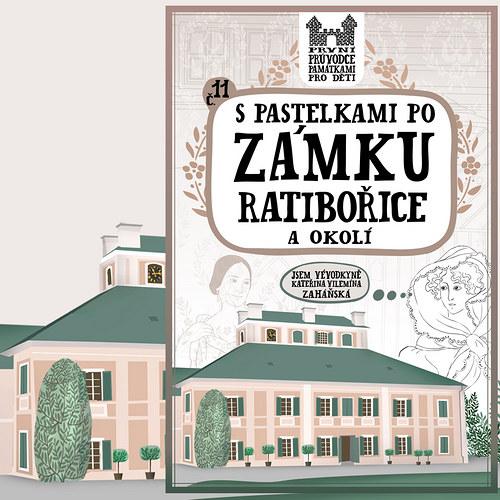 S pastelkami po zámku Ratibořice a okolí