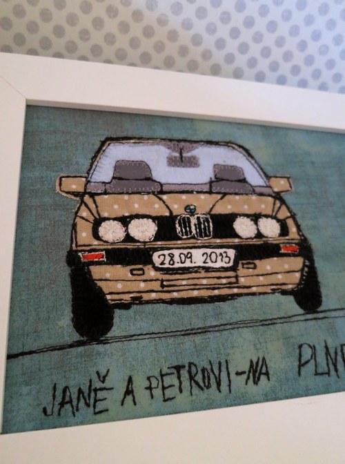 na plnej céres ! - šité BMW e30