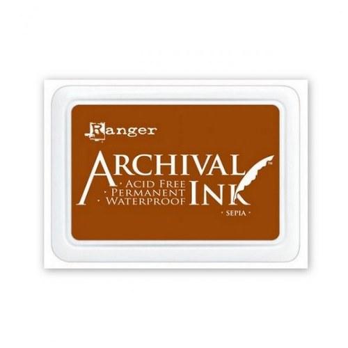 Archival inkoustový polštářek / Sépie