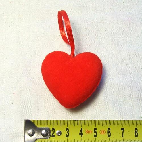 Srdce semišové