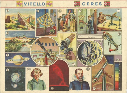 Reklamní okénko pro děti Astronom