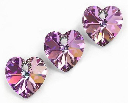 Srdce 10,3 x 10 mm Crystal LV Swarovski Elements