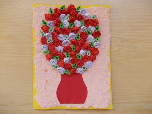 Kytice růží...