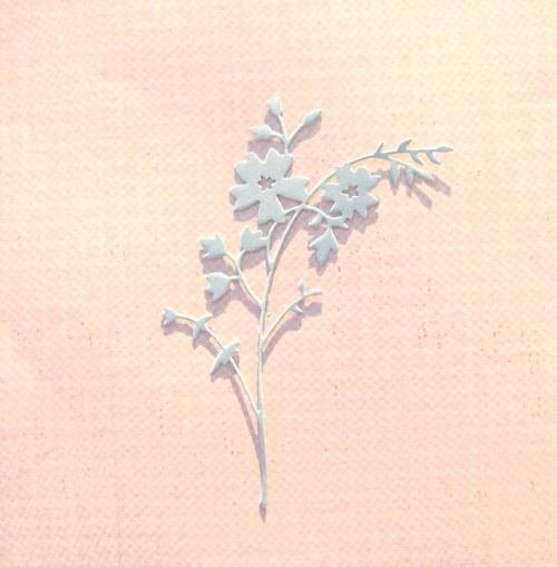 Větvička s květy (jemná)