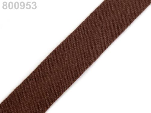 Šikmý proužek 14 mm zažehlený (5m) - Monk