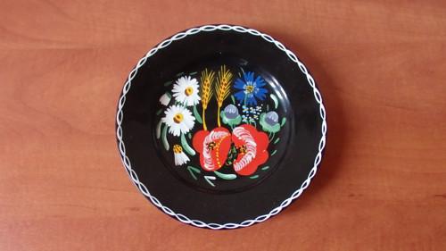 Ručně malovaný talíř Ditmar Urbach na zavěšení
