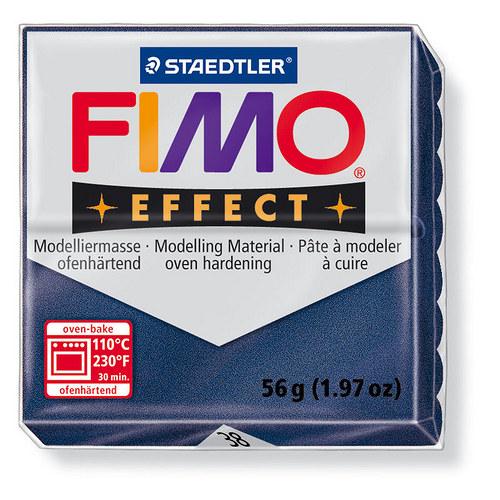 Fimo effect metalická safírová modrá 38