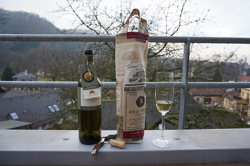 Obal na víno dárkový - red wine