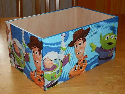 Zásobník na DVD Woody a Buzz
