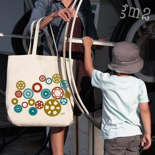 Taška s kolečkem navíc LittleBigBag