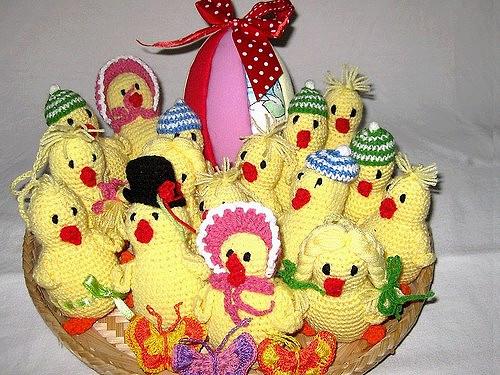 Veselé Velikonoce - kuře Pepa