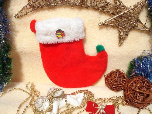 Mikulášská,vánoční ponožka