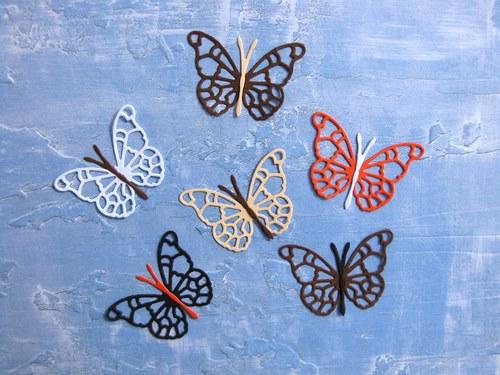 Motýl malý - 6 ks