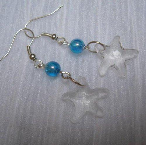 Čiré hvězdičky  - naušnice