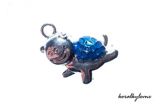 Přívěsek želvička modrá