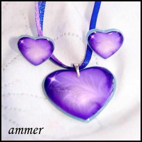 Srdíčka fialová