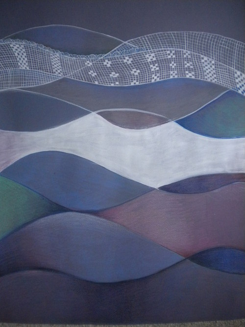 Vlny v modrém