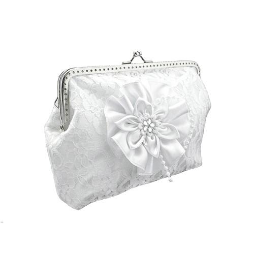 Svatební kabelka pro nevěstu s řetízkem 0450A