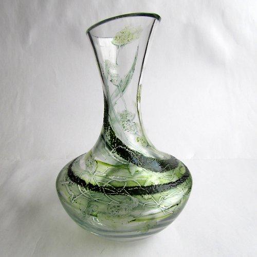váza ZELENÝ ŽIVEL