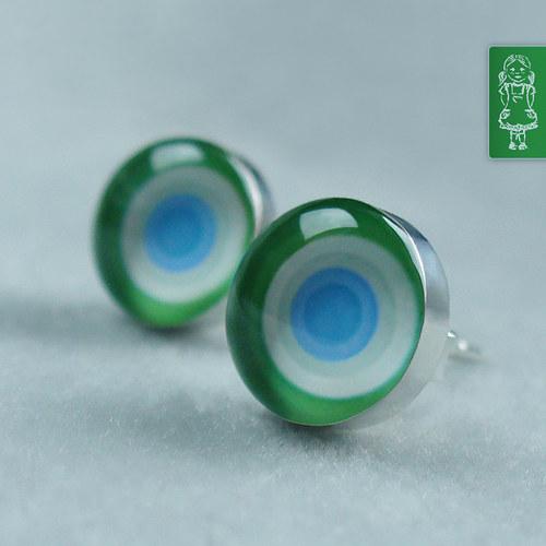 Zelinkavě - fialkové kroužky: stříbro