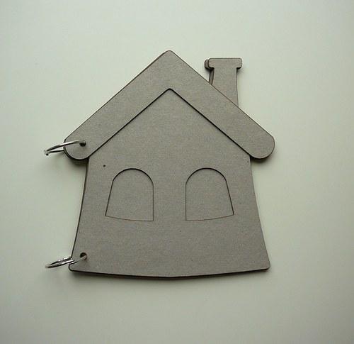 Chipboard album 17,5x20,5 cm 4 listy