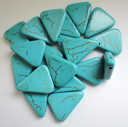 Minerál tyrkys - trojúhelníček
