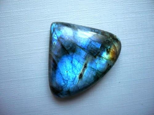 Kabošon - labradorit modrý 31 mm, č.323
