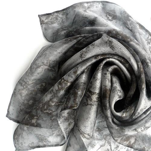 Hedvábný šátek 55 x 55