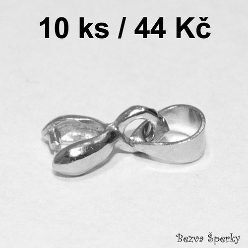 Platinová šlupna 11 mm, 10 ks