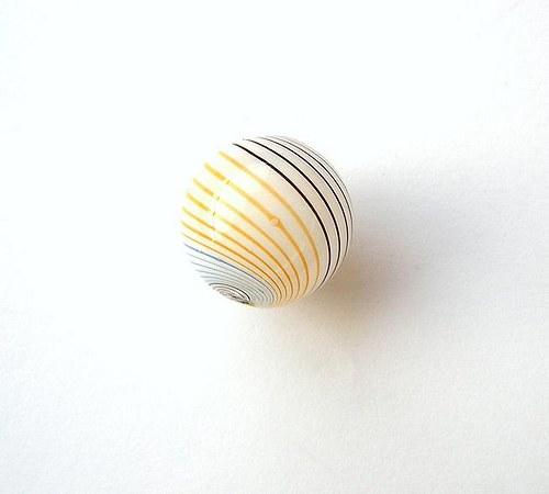 Korálek, foukané sklo, 20 mm - 1 kus