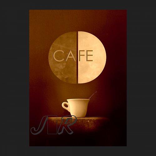 Fotomontáž  Cafe