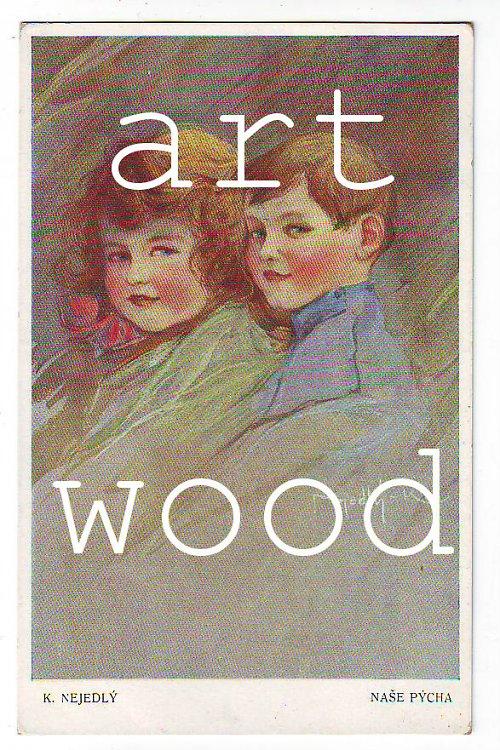 Dobová pohlednice - PORTRÉT DĚTÍ č. 403