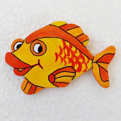 Magnet zlatá ryba