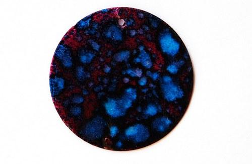 perleťové placky tenké-35mm