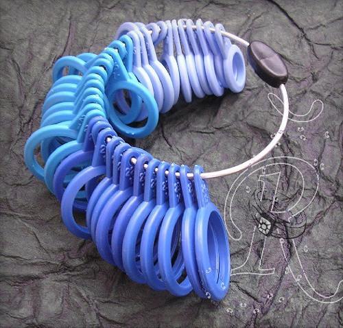 Zkoušecí prstenové kroužky