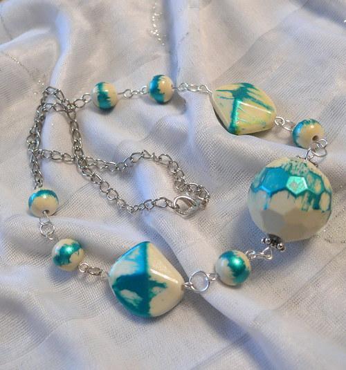 Nádech tyrkysu - náhrdelník
