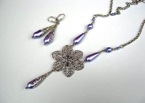 Violette lace set