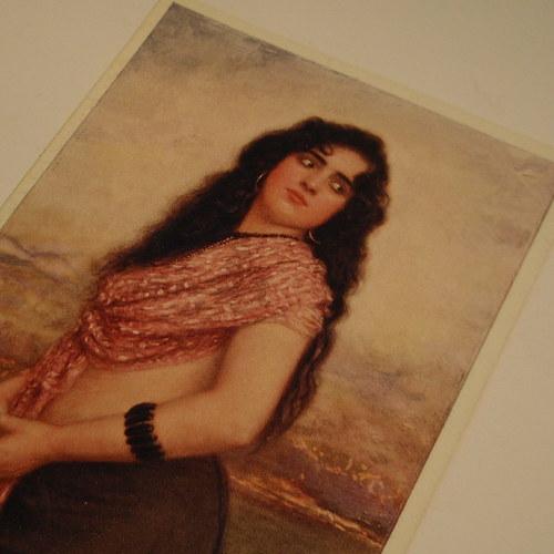 Ženíšek - CIKÁNSKÁ KRÁSKA - pohlednice č. 1167