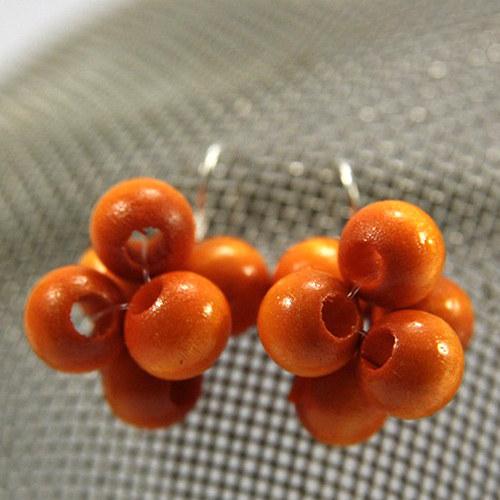 Náušnice Berries Orange