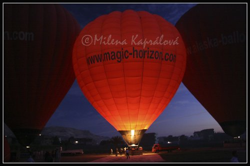 Červené balóny