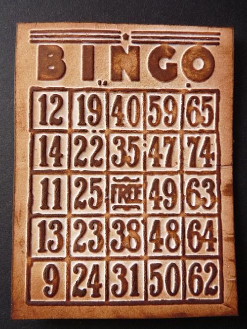 Embossovaný polotovar  - Bingo malé