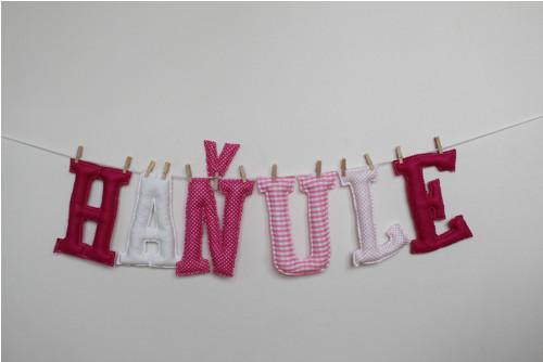 Písmenka pro děti růžovo-bílá